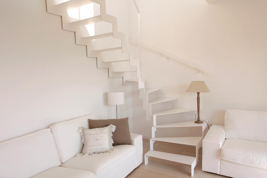Casa immobiliare accessori scala interna muratura - Progettare scala interna ...