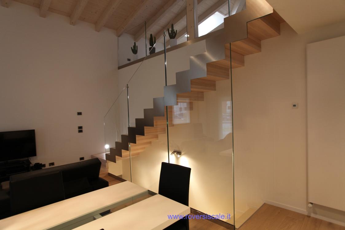 Scale in acciaio e vetro - Scala interna design ...
