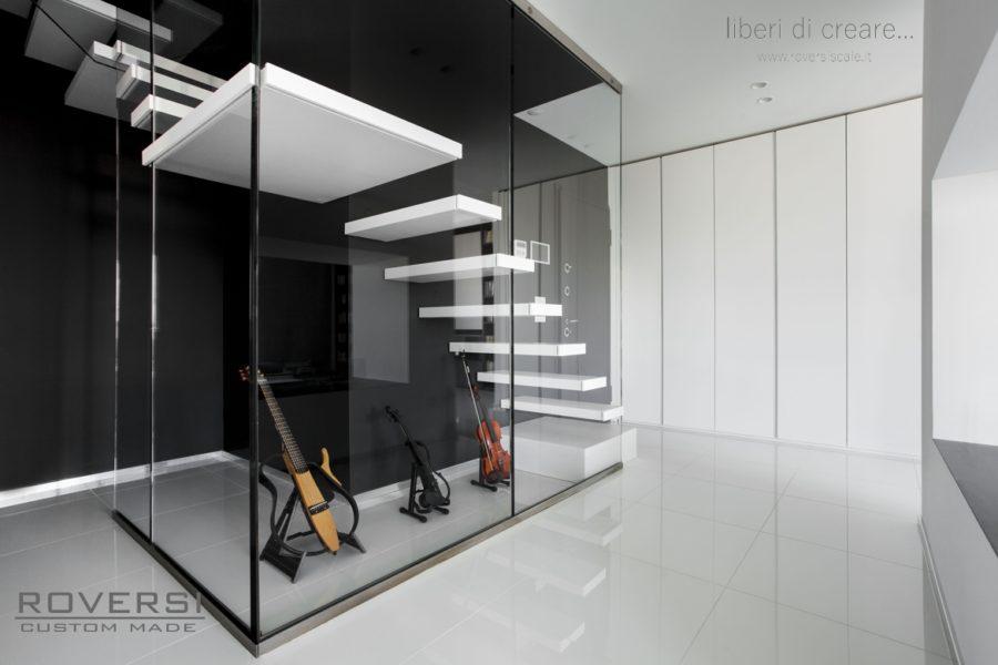Roversi scale progettazione e realizzazione di scale - Tipi di scale per interni ...
