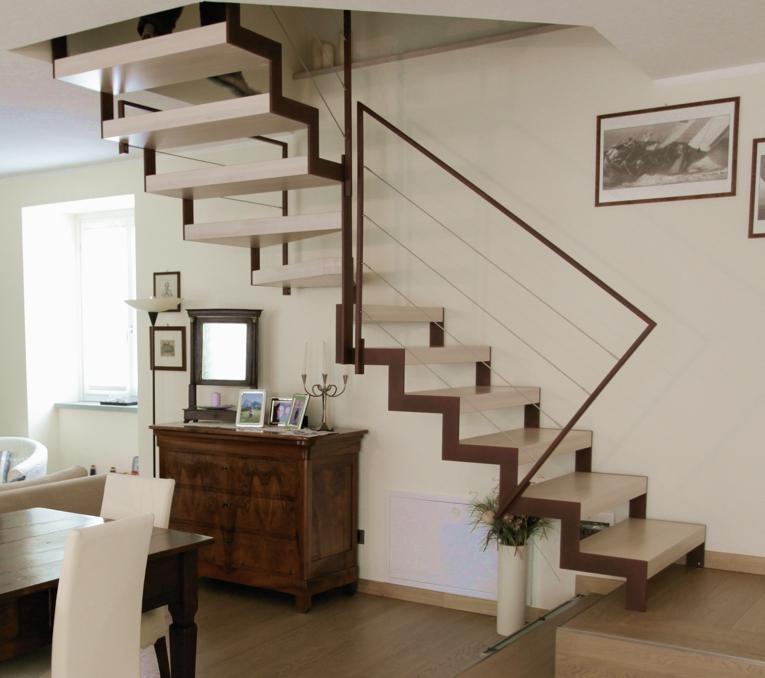 Roversi scale progettazione e realizzazione di scale - Scale prefabbricate per interni prezzi ...