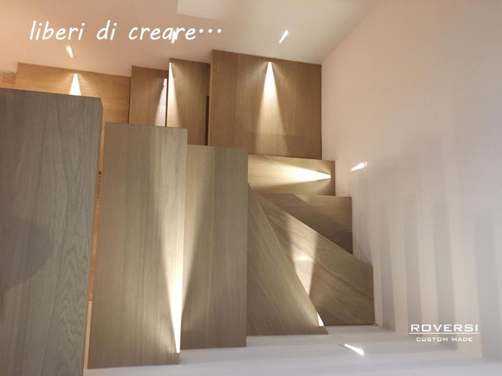 Ringhiera Scala Fai Da Te le scale custom made - progettazione e realizzazione roversi